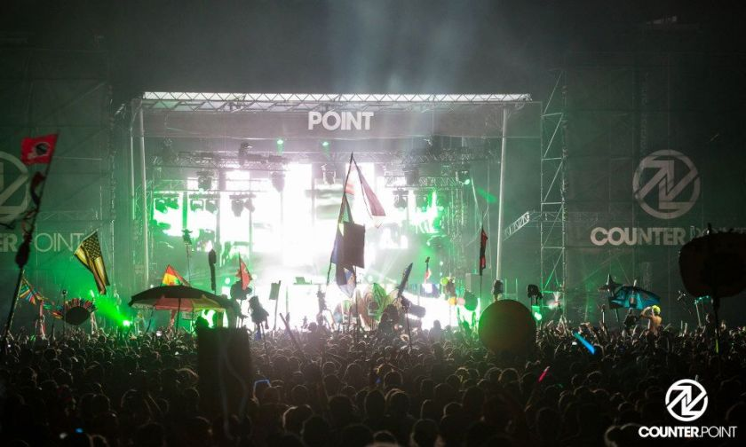 Bassnectar at counterpoint music festival