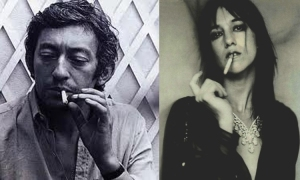 Serge and Charlotte Gainsbourgh, father and daughter
