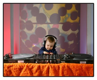 Baby Dj, disc jockey, child