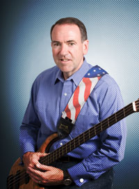 Mike Huckabee and his guitar