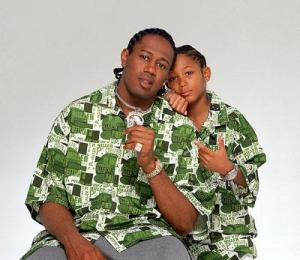 Master P and Lil Romeo, father and son, together