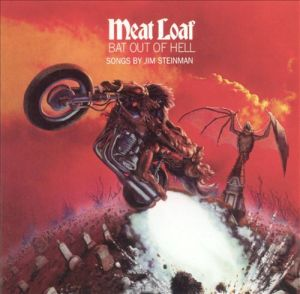 meat loaf, bat out of hell, album, cover, art