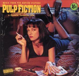 Pulp fiction, soundtrack, album, cover, art