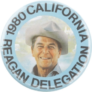 """Ronald Reagan  """"California Here We Come"""" presidential campaign song"""