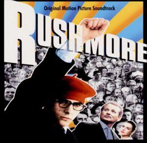 rushmore soundtrack, album, cover, art