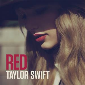 taylor swift album cover art, red, new album