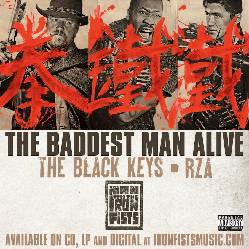 The Black Keys and RZA, The Baddest Man Alive, music video