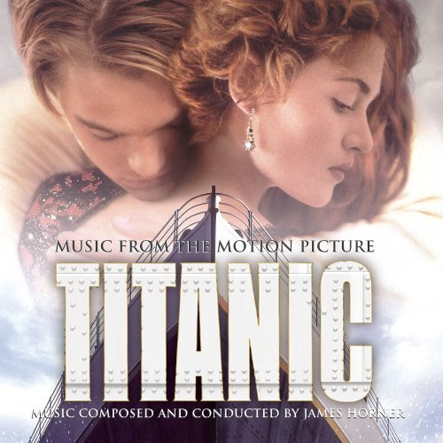titanic, soundtrack, album, cover, art