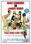James Bond 007, You Only Live Twice, movie poster