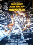 James Bond 007, Moonraker, movie poster