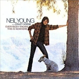 Neil Young Everybody Knows This Is Nowhere album cover art