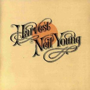 Neil Young Harvest album cover art