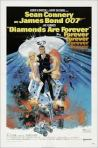 James Bond 007, Diamonds Are Forever, movie poster