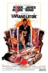 James Bond 007, Live and Let Die, movie poster