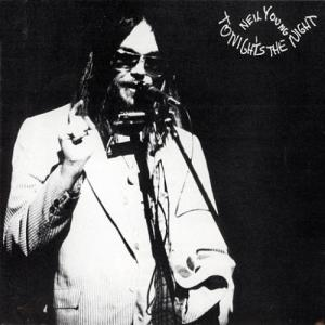 Neil Young Tonight's the Night album cover art