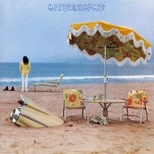 Neil Young On the Beach album cover art