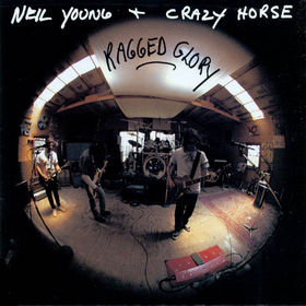 Neil Young Ragged Glory album cover art