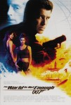 James Bond 007,The World is Not Enough, Theatrical movie Poster