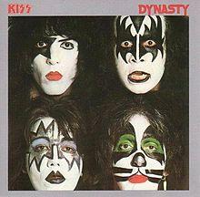 KISS, Dynasty, album cover art