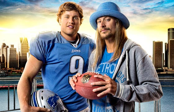 Kid Rock, Matthew Stafford, and the Detroit Lions