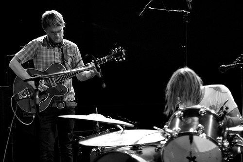 Two Gallants, live, band
