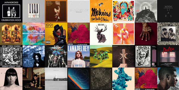 Top 20 Best Albums of 2012 including El-P, Jack White, and Fiona Apple