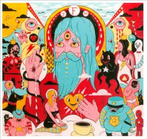 father john misty, fear fun, album, cover, art