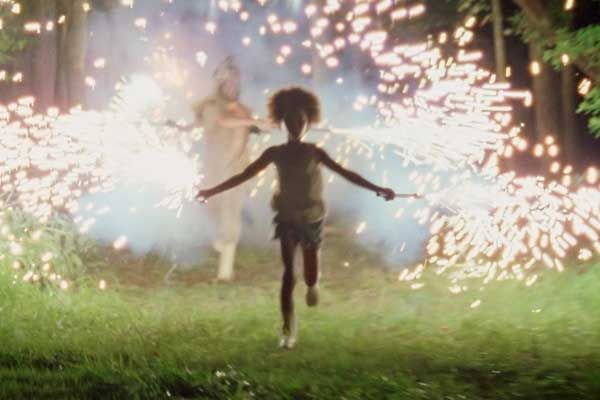 Beasts of Southern Wild, girl, hushpuppy, sparklers