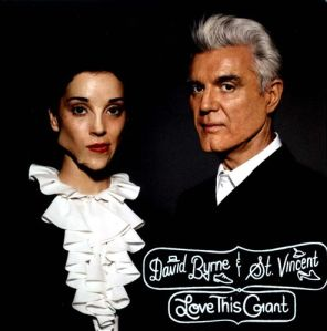 david byrne, st. vincent, love this giant, album, cover, art