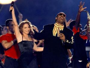 stevie wonder gloria estefan super bowl