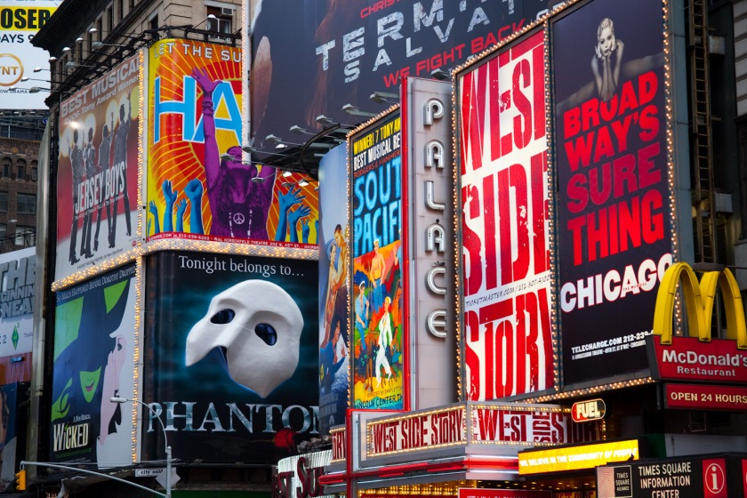 Five Favorite Broadway Songs