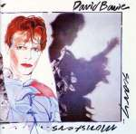 scary monsters album cover art