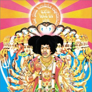 Jimi Hendrix, album cover art,  Axis: Bold As Love