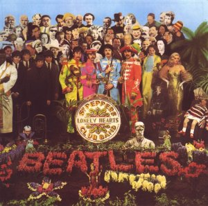 The Beatles , album cover art, Sgt. Pepper's Lonely Hearts Club Band