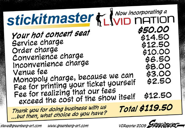 Even in Losing, Ticketmaster Sets the Terrible Rules – Little by Listen