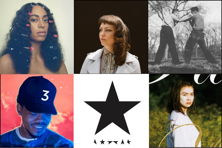LxL's 10 Best Albums of 2016